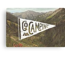 Go Camping Canvas Print