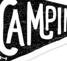 Go Camping Sticker