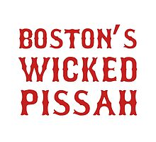 Boston Wicked Pissah Red by TheBestStore