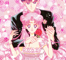 Princess Serenity and Prince Endymion Sticker