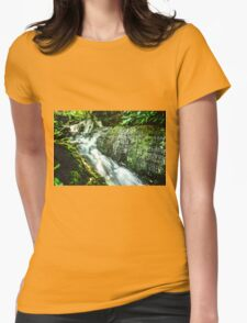 Artwork - Waterfall Womens Fitted T-Shirt