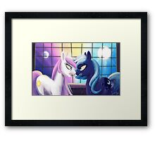 What Time is It? Framed Print