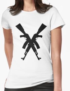 AK47's Womens Fitted T-Shirt