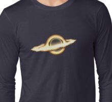 Interstellar, Black hole, Portal, Infinity, Universe, Outer Space, Star Long Sleeve T-Shirt