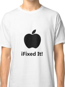 iFixed It Apple Classic T-Shirt