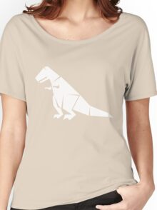 Tee Rex White Women's Relaxed Fit T-Shirt