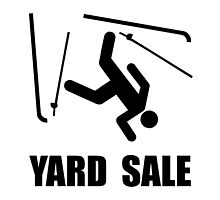Ski Yard Sale by TheBestStore