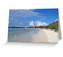 The perfect beach Greeting Card