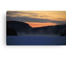 Sunrise series (2) Canvas Print
