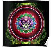 Chakra: 4 Heart Chakra Poster
