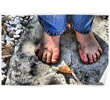 Dirty Little Feet  Poster