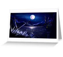 The Sound of Moonlight Greeting Card