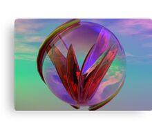 Love In A Glass Canvas Print