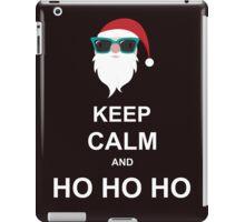 Keep Calm And Ho Ho Ho iPad Case/Skin
