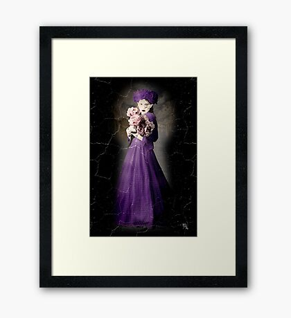 Flowers In The Attic Framed Print
