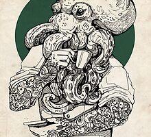 Mr Octopus Print/case by WOLFSKULLJACK