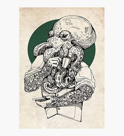 Mr Octopus Print/case Photographic Print
