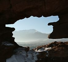 Looking through Rock by JamesMichael