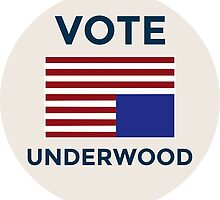 House of Cards - Vote Frank Underwood by chillauren