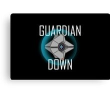 Guardian Down (Color) Canvas Print