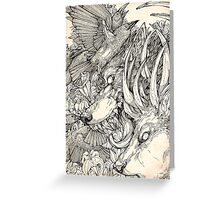 Chaos Divine  Greeting Card
