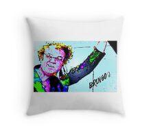 Bringo! Dr. Steve Brule Design by SmashBam Throw Pillow