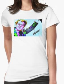 Bringo! Dr. Steve Brule Design by SmashBam Womens Fitted T-Shirt