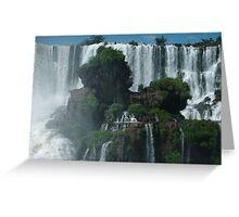 Iguazu Falls Argentina Greeting Card