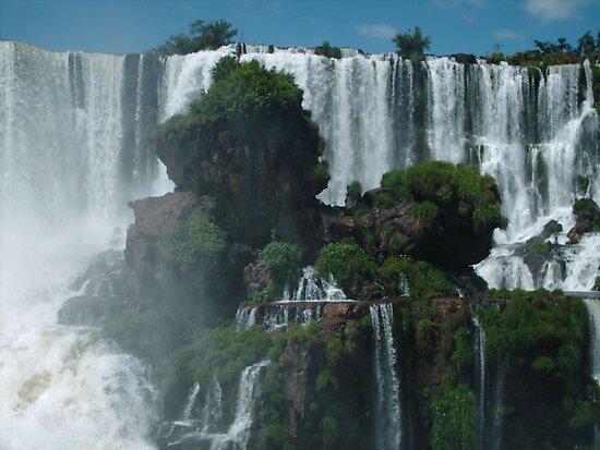 Iguazu Falls Argentina by Luke Meers