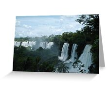 Iguazu Falls 2 Greeting Card