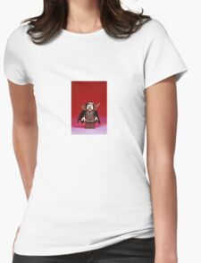 Count Dracula Womens Fitted T-Shirt