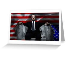 House of Cards cover Greeting Card
