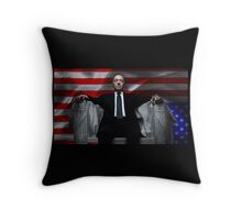 House of Cards cover Throw Pillow