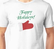 Fappy Holidays Christmas Glove Unisex T-Shirt