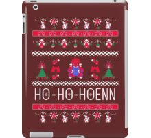 Ho-Ho-Hoenn! Groudon  iPad Case/Skin