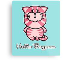 Hello Bagpuss Metal Print