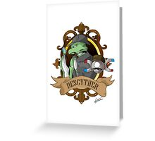 Descyther Greeting Card