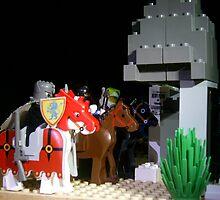 Horsemen Of LegoLand by Carlo Cesar Rodillas
