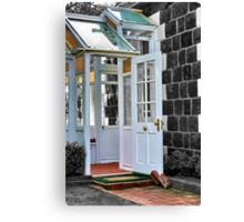 """""""The Door"""" Canvas Print"""