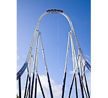 Stealth - Thorpe Park Photographic Print