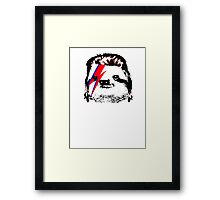 SLOWIE Framed Print