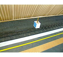abstract in the everyday (ear in a box) Photographic Print