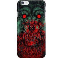 Werewolf shape Print/case iPhone Case/Skin