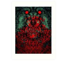 Werewolf shape Print/case Art Print