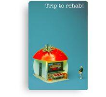 Trip to rehab Canvas Print
