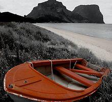 Red Boat by Ashley Ng