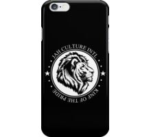 King of the Pride WHT Circle iPhone Case/Skin