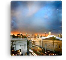 Storm over Sydney Canvas Print