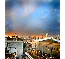 Storm over Sydney Photographic Print