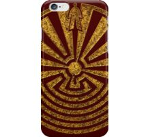 Man in the Maze, Journey through life, I'itoi, Papago iPhone Case/Skin